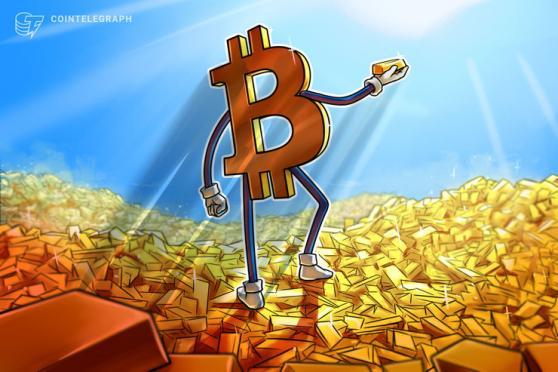 ビットコインは38000ドルのサポート試す FRB発言で金は6週間ぶりの安値に